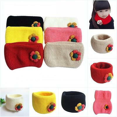 Kid Boys Girls Winter Scarf Warm Scarves Children Baby Christmas Gift For 2-10 Y