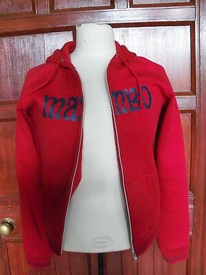 Girls jacket MAMBO red size 10 zip up                                       0347