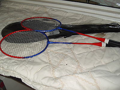 C4 Badminton Set with 2 Badminton Rackets & Shuttlecock With Case 140