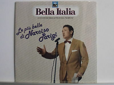 NARCISO PARIGI disco LP 33 LE PIU' BELLE DI Made in Italy serie BELLA ITALIA