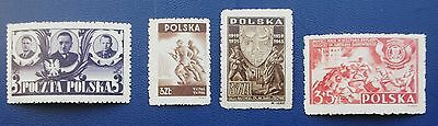POLAND - 1945-1946 Collection 0f MNH Stamps