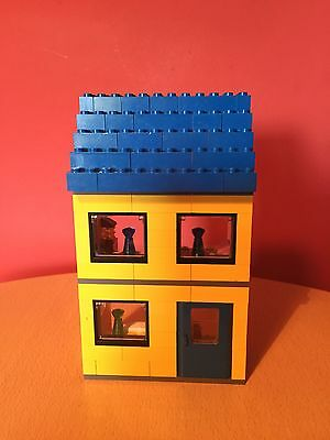 Lego CITY Town House like 8403 Yellow & Blue