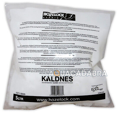 Hozelock K3 Kaldness 5L Filter Media Refill Advanced Biomedia Pond Koi Goldfish