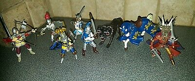 Papo Knight Action Figures Dragon Dog Horse