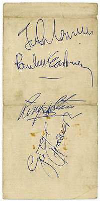 The Beatles 1967 MMT Signed Westminster Bank Cheque Magical Mystery Tour