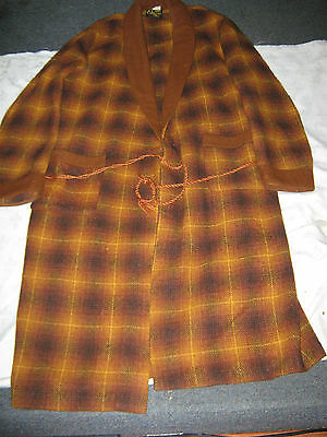 Vintage Australian Made Wool Blend Onkaparinga XL Dressing Gown