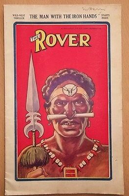 The Rover D.C. Thomson #694 Aug 1935 Comic Story Paper