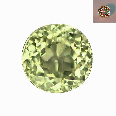 0.38Ct Charming Round Cut 4 x 4 mm AAA Color Change Turkish Diaspore