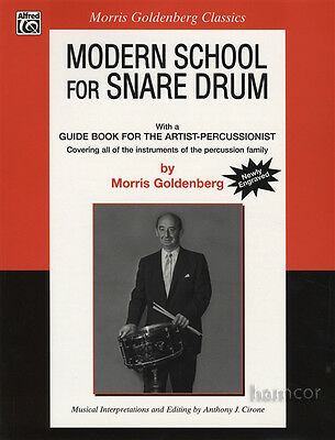 Modern School for Snare Drum by Morris Goldenberg Music Book