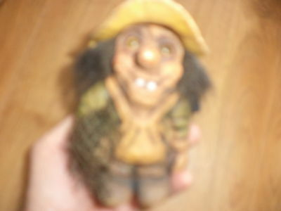 Fosse troll doll made in Norway No 301 fisherman