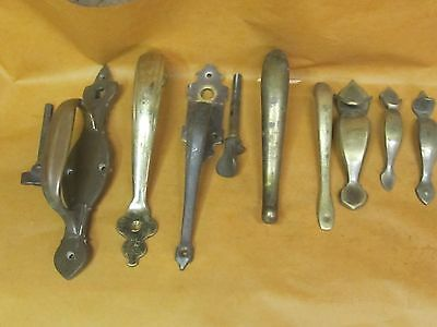 Lot of Vintage Brass Door Pulls/ Handles