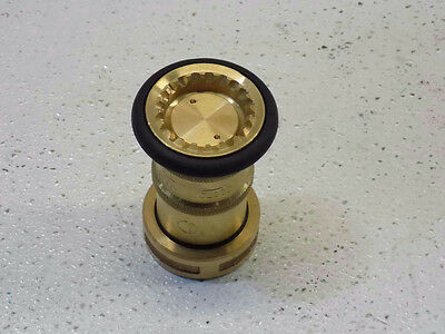 NNI 1-1/2in. NST NH Fire Hose Bronze Fog Nozzle
