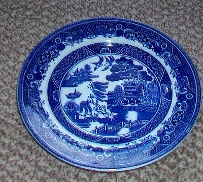 """Adderley Ware """"old Willow"""" Plate 6.5 Inch"""