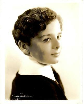 1936 FREDDIE BARTHOLOMEW in LITTLE LORD FAUNTLEROY Original 8x10 Portrait Photo