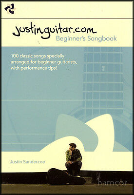 Justinguitar.com Beginner's Songbook Justin Sandercoe 2nd Edition Spiral Bound