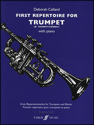 First Repertoire for Trumpet with Piano Sheet Music Book