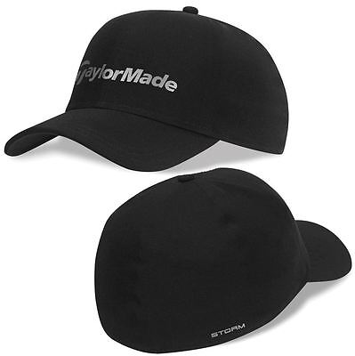 TaylorMade 2016 Storm Hat Water Resistant Stretch-Fit Men's Golf Cap