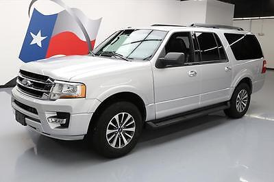 2016 Ford Expedition  2016 FORD EXPEDITION EL XLT ECOBOOST LEATHER NAV 39K MI #F15686 Texas Direct