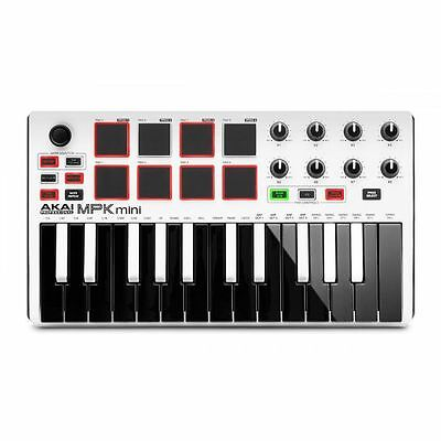 Akai MPK Mini Mk2 Performance USB MIDI Pad & Keyboard Controller With Product...