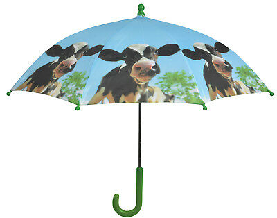 Fallen Fruits Children's Farm Animals Umbrella  - Cow
