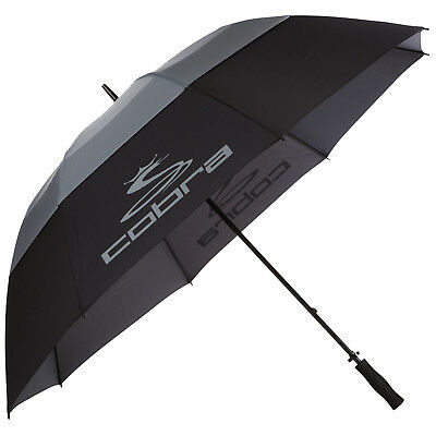 "Cobra Tour Storm Double Canopy 68"" Umbrella - New Golf Windproof Brolly 2016"