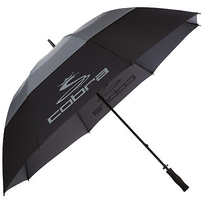 "Cobra Tour Storm Double Canopy Umbrella 68"" - New Golf Windproof Brolly 2017"
