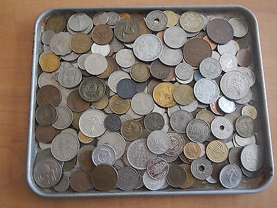 3 Pounds lbs Assorted Foreign Coins World Nice Large Lot 91