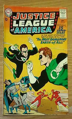 Justice League of America #30 Crime Syndicate DC Silver Age Comic Book VG-  bx