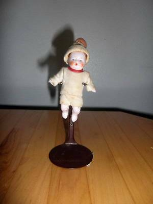 """Germany ? ~ Antique Bisque Dollhouse Doll 3"""""""