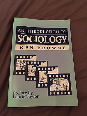 An Introduction To Sociology Ken Browne