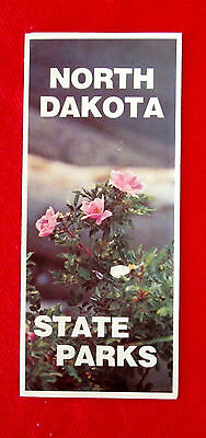 1978 North Dakota State Parks Travel Brochure golc