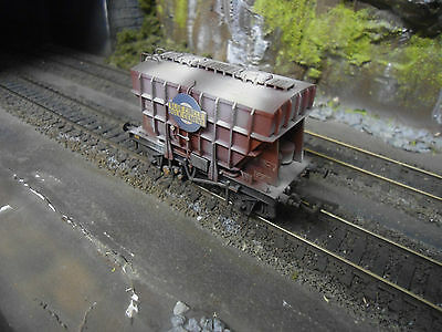 Bachmann 38-270A Presflo 22T Cement Wagon Weathered
