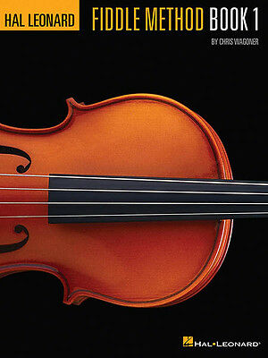 Hal Leonard Fiddle Method Book 1 Learn to Play Violin Beginner Music Lessons NEW