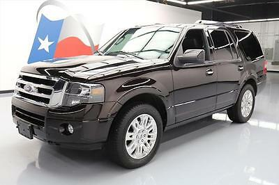 2013 Ford Expedition Limited Sport Utility 4-Door 2013 FORD EXPEDITION LTD 4X4 HTD SEATS SUNROOF NAV 41K #F21719 Texas Direct Auto