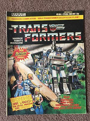 Marvel Uk Transformers Comic Issue #2