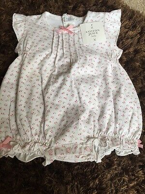 BNWT Baby Girl Romper Size 6-12 Months