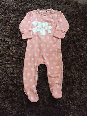 Excellent Condition Baby Girl Next Babygrow Size 0-3 Months