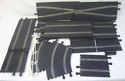 Job Lot Of Classic Scalextric Track Straights & Curves
