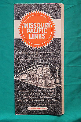 Missouri Pacific Lines - Timetable - June 2, 1935
