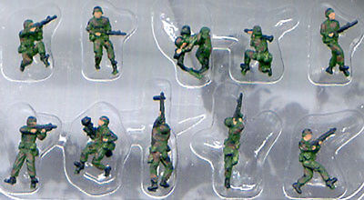 Pegasus 0854 Modern American NATO Infantry 1/144 Scale Painted Model Figures