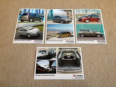 4 Citroen C4 Grand Picasso Double Press Photographs From 12/2006