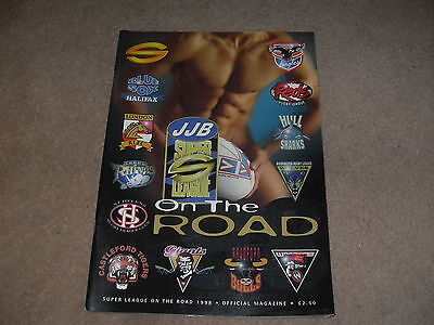Super League on The Road 1998 - Official Magazine