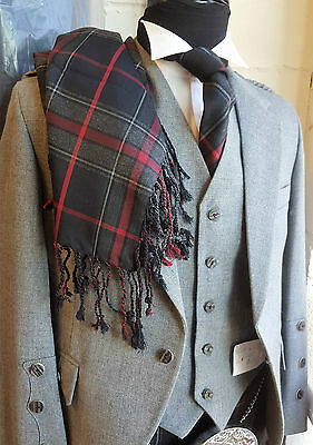 Spirit Of Bruce Wool Mini Fringed Plaid 4 Scottish Kilt Sale less 1/2 than price