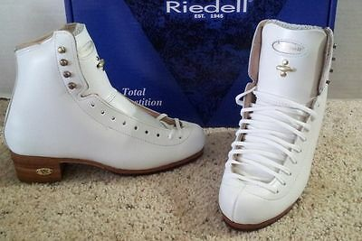 Riedell #375 Gold Star Classic skate boots 3 1/2, 5 1/2, and 6   NEW