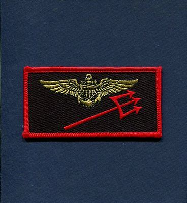 HS-3 TRIDENTS US Navy Helicopter Squadron AVIATOR Name Tag Patch