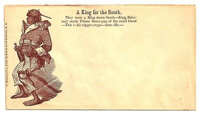 CIVIL WAR PATRIOTIC Cover PRINCE SAUCE PAN ~ A KING FOR THE SOUTH