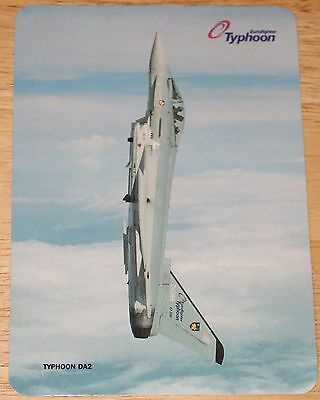 Glossy RAF Royal Air Force Eurofighter Typhoon British Aerospace Sticker