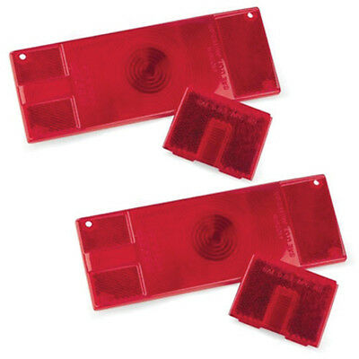 """WATERPROOF """"OVER 80"""" LOW PROFILE Tail Lamp Replacement Lens Kit"""