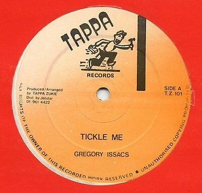 """Gregory Isaacs Tickle Me Sly Robbie Version Reggae 12"""""""
