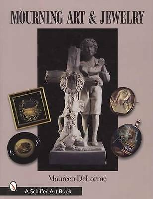 18th 19th Century Mourning Art Jewelry Ref Book w/ Victorian Edwardian Portrait